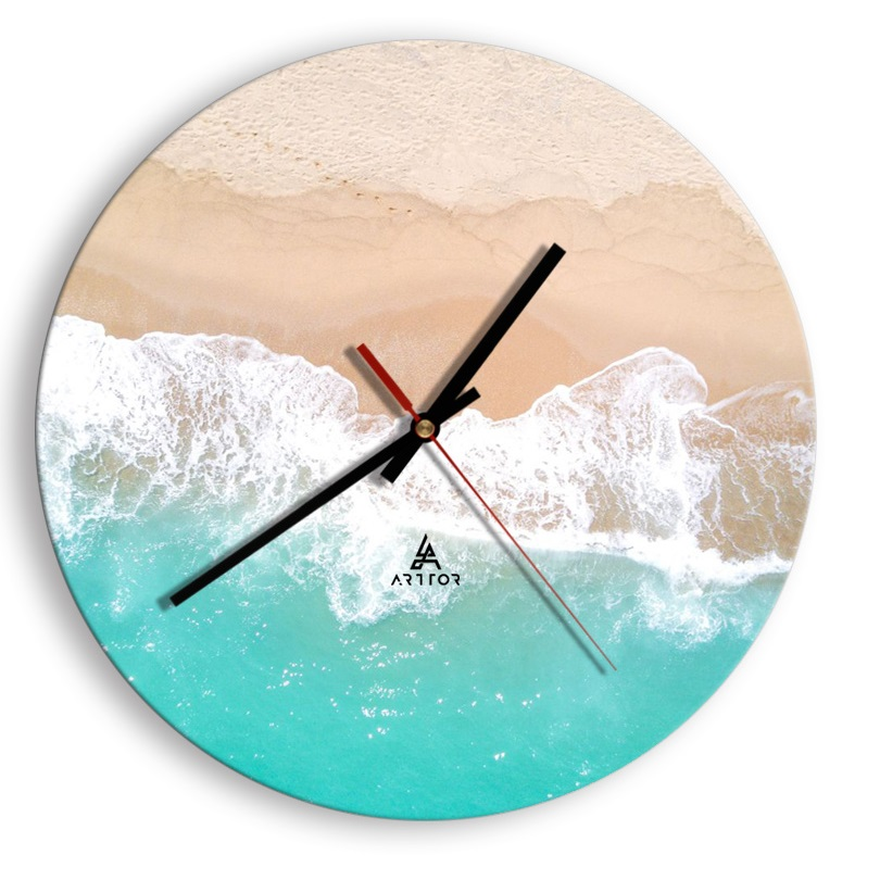 zegar na szkle Cyferblat C1