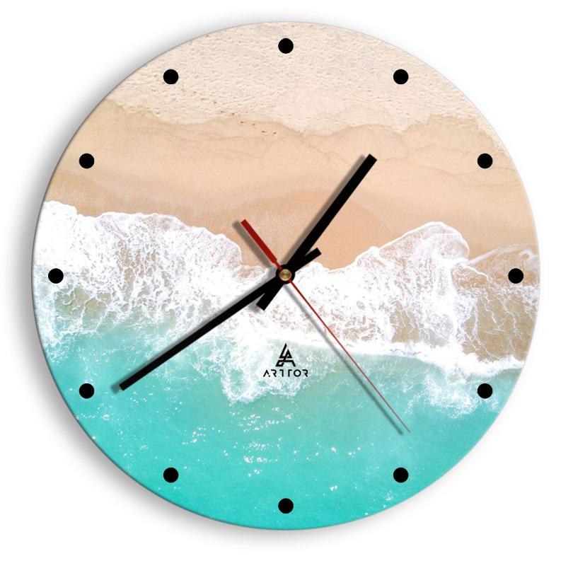 zegar na szkle Cyferblat C2