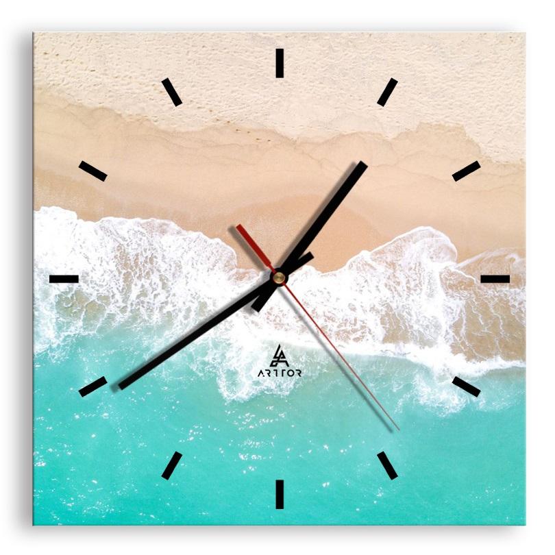 zegar na szkle Cyferblat AC